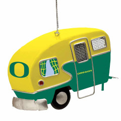 Oregon Ducks Camper Ornament