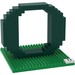 NCAA Mini BRXLZ Logo Building Blocks Oregon 3D