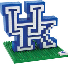 NCAA Mini BRXLZ Logo Building Blocks - Kentucky Wildcats