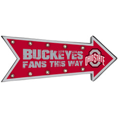 NCAA Ohio State Buckeyes Sign, Team Colors, One Size [Free Shipping]**Free Shipping**