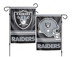 NFL Oakland Raiders 2-Sided Garden Flag, 12 x 18-inches