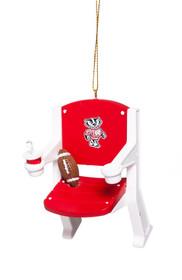 Evergreen Enterprises Wisconsin Badgers Stadium Chair Ornament