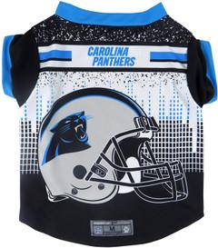 NFL Carolina Panthers Pet Performace T-Shirt, Small