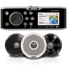 "FUSION UD755 Bundle w\/7022 Speakers - 7"" w\/3 Months Free SiriusXM Service  Cash Back Promo [UD755\/7]"