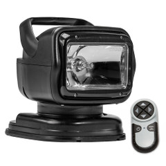 Golight Radioray GT Series Portable Mount - Black Halogen - Wireless Handheld Remote Magnetic Shoe Mount [7951GT]