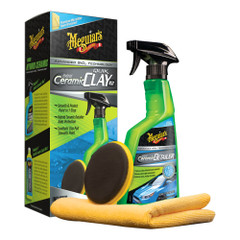 Meguiars Hybrid Ceramic Quik Clay Kit [G200200]