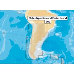Navionics Navionics+ MSD\/NAV+5XG Chile, Argentina  Easter Island - microSD Format [MSD\/NAV+5XG]
