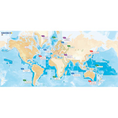 Navionics Navionics+ Updates Flexible Coverage World - microSD [MSD\/NAVUPDATES-W]