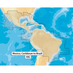 Navionics Navionics+ Updates Mexico, Caribbean to Brazil - microSD [MSD\/NAVU4XG]