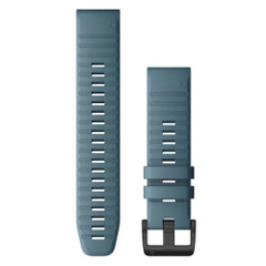 Garmin QuickFit 22 Watch Band - Lakeside Blue Silicone [010-12863-03]
