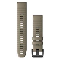Garmin QuickFit 22 Watch Band - Dark Sandstone Silicone [010-12863-02]