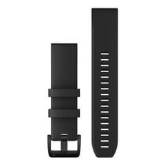 Garmin QuickFit 22 Watch Band - Black w\/Black Stainless Steel Hardware [010-12901-00]