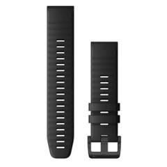Garmin QuickFit 22 Watch Band - Black Silicone [010-12863-00]