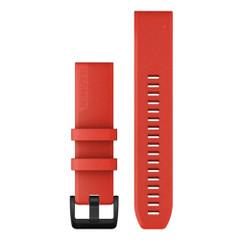 Garmin QuickFit 22 Watch Band - Laser Red w\/Black Hardware [010-12901-02]