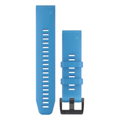 Garmin QuickFit 22 Watch Band - Cyan Blue Silicone [010-12740-03]