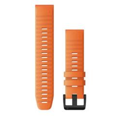 Garmin QuickFit 22 Watch Band - Ember Orange Silicone [010-12863-01]