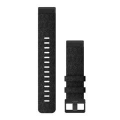 Garmin QuickFit 22 Watch Band - Heathered Black Nylon [010-12863-07]