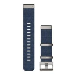 Garmin QuickFit 22 Watch Band - Jacquard-Weave Nylon Indigo [010-12738-02]
