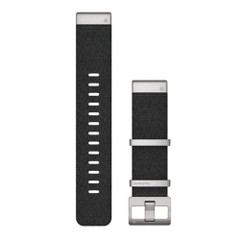 Garmin QuickFit 22 Watch Band - Jacquard-Weave Nylon Black [010-12738-21]
