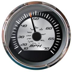 """Faria Platinum 4"""" Speedometer 70 MPH - Pitot [22011]"""