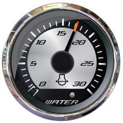 """Faria Platinum 2"""" Water Pressure Gauge Kit - 30 PSI [22023]"""