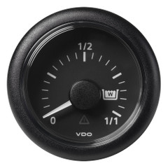 "VDO Marine 2-1\/16"" (52mm) Viewline Waste Water - 0 to 1\/1 - 8 to 32V - Black Dial  Bezel [A2C59512342]"