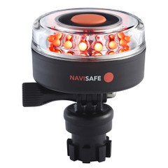 Navisafe Navilight All-Red 5 Mode 360 2NM w\/Navimount Base [045-1]