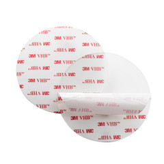 """Navisafe 3M VHB 3.5"""" Self-Adhesive Mounting Pad 2-Pack f\/Suction Cup [112-1]"""