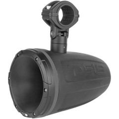 "DS18 HYDRO 1.75"" Driver Wakeboard Pod Tower Speaker w\/RGB LED Lights - 900W - Mattle Black - Single [NXL-DTBK]"