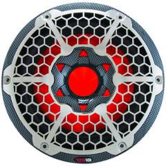"DS18 HYDRO 10"" Subwoofer w\/RGB Lights - 600W - Carbon Fiber [CF-10SUB]"