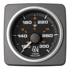 "VDO Marine 2-1\/16"" (52mm) AcquaLink Engine Oil Temp 300F\/150C - 12\/24V - Black Dial  Bezel [A2C59501927]"