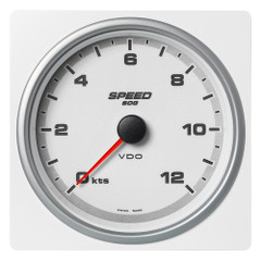 "VDO Marine 4-3\/8"" (110mm) AcquaLink Speed Over Ground 12 Knots - 12\/24V - White Dial  Bezel [A2C1338870001]"