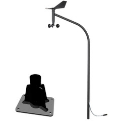 VDO Marine NMEA 2000 Vertical Mast Wind Sensor w\/Top Bracket f\/AquaLink  OceanLink Gauges [A2C1029570002]