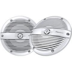 "Pioneer Audio Marine Series 6.5"" 250W Speaker - Classic Grille - White [TS-ME650FC]"