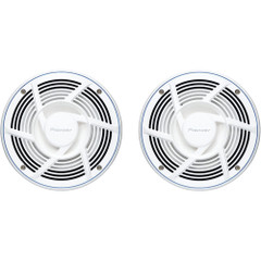 "Pioneer Audio Nautica Marine Series 8"" 200W 2-Way Speaker - White [TS-MR2040]"