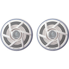 "Power Audio Nautica Marine Series 8"" 100 W Dual-Cone Speaker - White [TS-MR1600]"