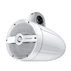 "Pioneer Audio 7.7"" 250W IPX7 Tower Speaker w\/RGB LED Lighting - Classic Grill - White [TS-ME770TC]"