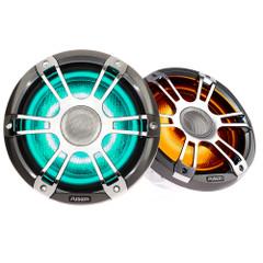 "FUSION SG-FL7772SPC Signature Series 3 - 7.7"" Speakers - Silver\/Chrome Sports Grille [010-02433-11]"