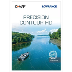 Lowrance C-MAP Precisin Contour HD f\/Alabama [M-NA-Y334-MS]