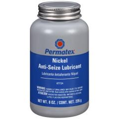 Permatex Nickel Anti-Seize Lubricant Brush Top Bottle - 8oz [77124]
