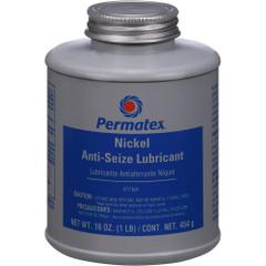 Permatex Nickel Anti-Seize Lubricant Brush Top Bottle - 16oz [77164]