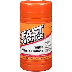 Permatex Fast Orange Heavy Duty Hand Cleaner Wipes - 75-Piece [25051]