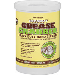 Permatex Grease Grabber Coconut Hand Cleaner Tub - 4lb [14106]