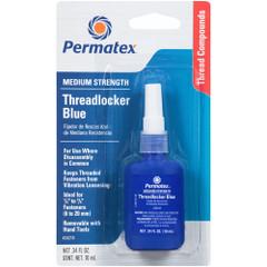 Permatex Medium Strength Threadlocker Blue - 10ml Bottle [24210]