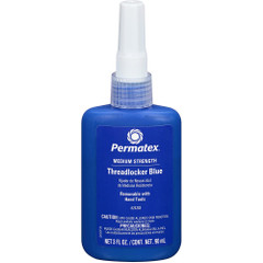 Permatex Medium Strength Threadlocker Blue - 90ml Bottle [24283]