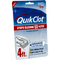 "Adventure Medical QuickClot Gauze 3"" x 4"" [5020-0026]"