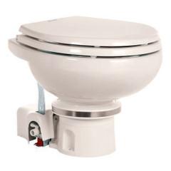 Dometic MasterFlush 7120 Bone Electric Macerating Toilet - 12V w\/Orbit Base  Fresh Water Flush [304712003]