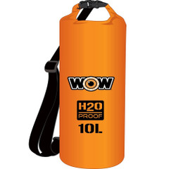 WOW Watersports H2O Proof Dry Bag - Orange 10 Liter [18-5070O]