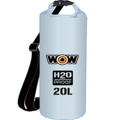 WOW Watersports H2O Proof Dry Bag - Clear 20 Liter [18-5080C]