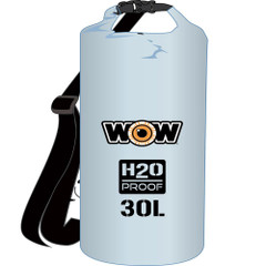 WOW Watersports H2O Proof Dry Bag - Clear 30 Liter [18-5090C]
